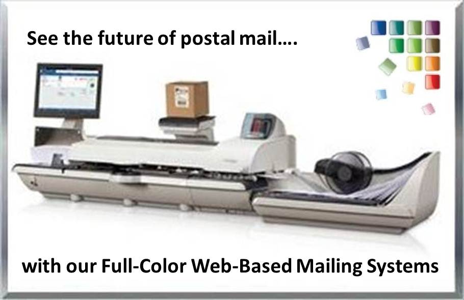 Web-Based Secap Connect+ by Pitney Bowes Prints Envelope Marketing Messages & Logos in High Resolution Full Color