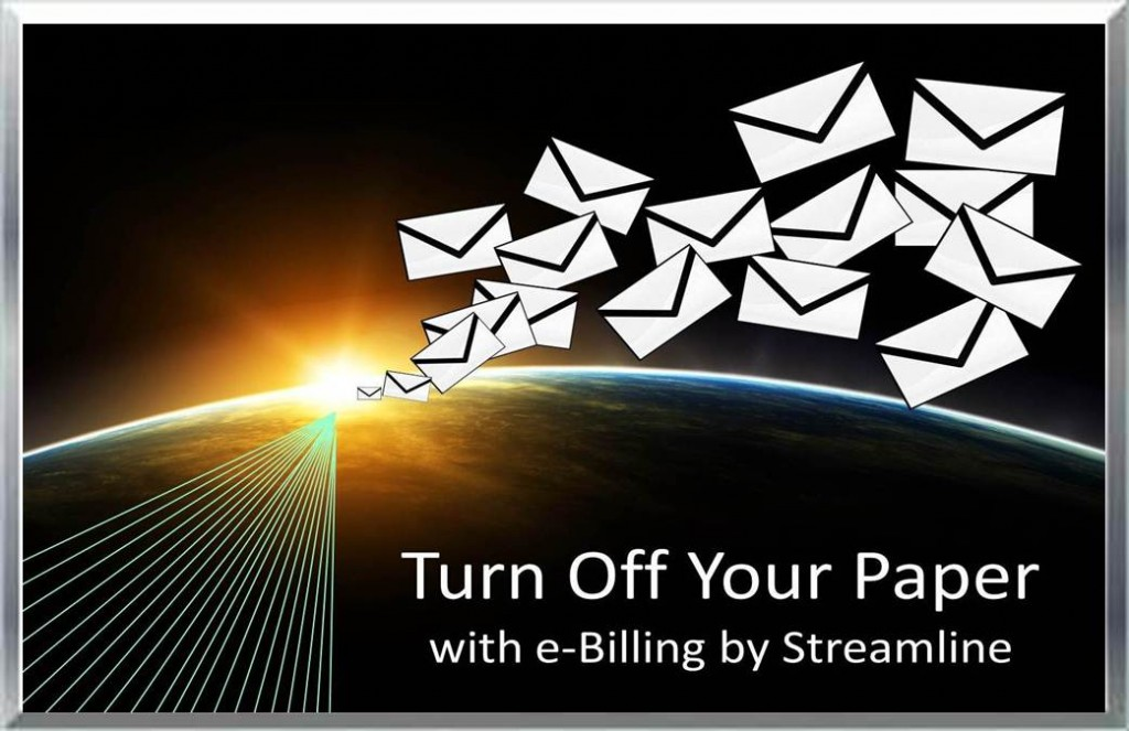 Electronic Billing & Payment Solutions turning off 80% of paper bills!