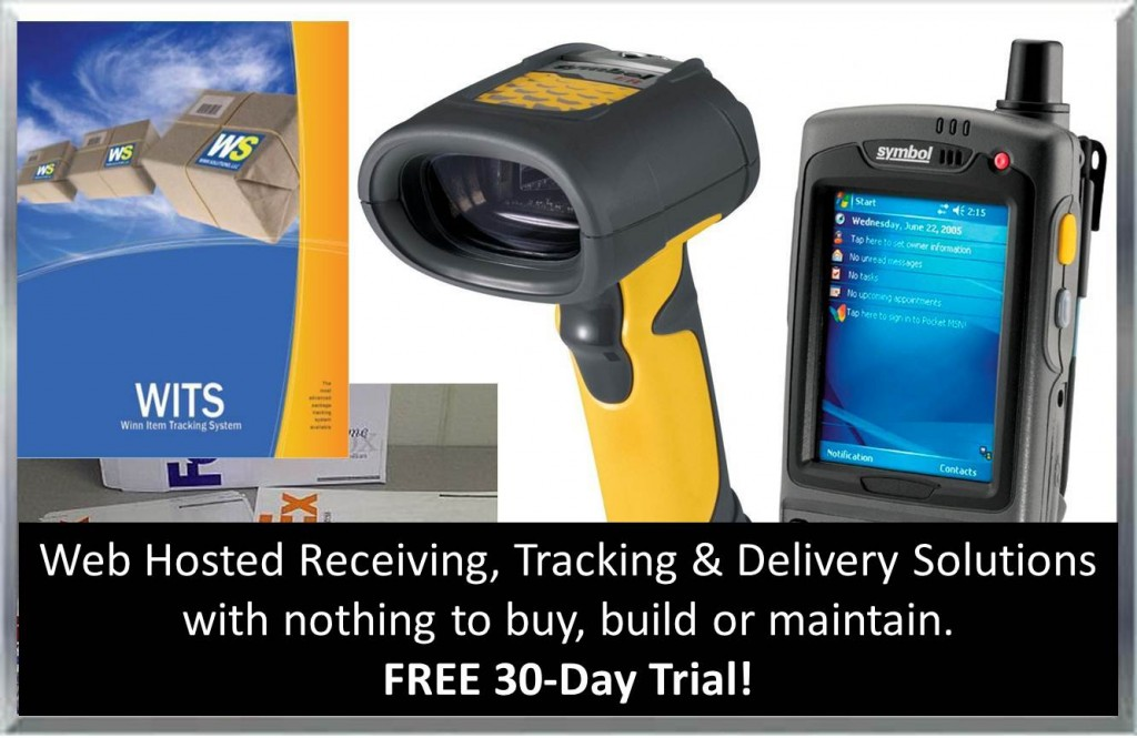 WITS Web Hosted Receiving, Tracking & Delivery Solutions. 30-Day Free Trial