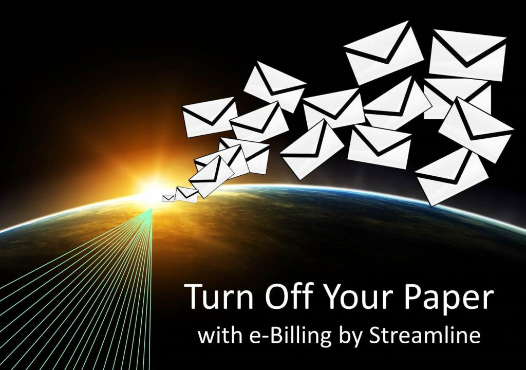 Turn Off Paper with E-Billing by Streamline